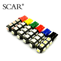 Ebon SCAR T10 5050 13SMD LED lights running lights show wide light a small lamp W5W