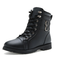 Fashion martin boots male boots fashion shoes male high-top boots elevator shoes the trend of the motorcycle boots
