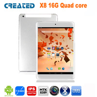 CREATED X8 7.9 inch quad core tablet gps built-in 3G sim card slot android 4.2 GPS IPS GPS Wifi 16GB