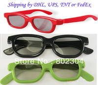 Kids Size Passive Real D type Circular  polarized 3d glasses+fast shipping by DHL,UPS, TNT or FedEx