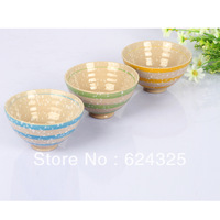 New special creative underglaze porcelain pottery bowl Rainbow Child Adult jobs