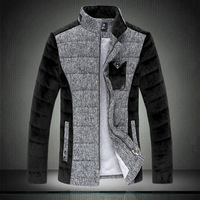Men's clothing cotton-padded jacket outerwear 2013 fashionable casual wadded jacket male slim cotton-padded jacket clothes