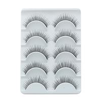 Hot Sale Charming Black False Eyelashes Designer Makeup Human Hair Eyelash Include Professional Glue For Lashes