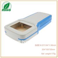 XDH03-13 plastic handheld enclosure junction box 204*100*35mm 8.03*3.94*1.38inch