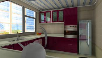MDF Kitchen Furniture K-M012