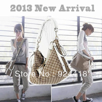 2013 Fashion choice Women Fashion Canvas Bag Ladies Bag Shoulder Bag Casual shoulder bag Free shipping
