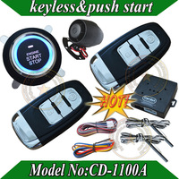 Promotional smart car alarm,passive keyless entry,auto lock or unlock car door ,push button start-stop,smart key  induction
