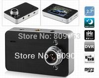 X60 2.7 inch TFT Screen 720P Car DVR with Dual Lens,  Rear Camera, G-Sensor - Black