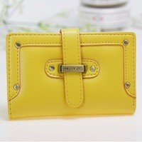 2013 HOT SALE New Arrived!!! High Quality PU Leather Wallet For Women Fashion Leather Coin PurseLY-3 (Middle)Free Shipping!