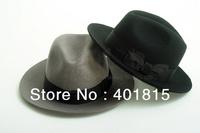 100% Wool Fedora, Wool Felt hat, high-end Classic Perfom wool Felt hat, Gentle-men Fedoras
