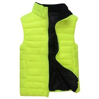 001 2013 winter new arrival fashion men's vest, casual fitness men parkas ,warm clothing men free shipping