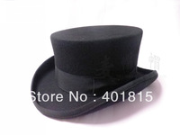 100% Wool Fedora, President Style Wool Felt hat, Low Crown, high-end wool Felt hat, Gentalman Wool Hat