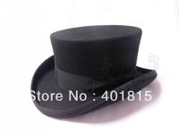 100% Wool Fedora, President Style Wool Felt hat, Low Crown, high-end wool Felt hat, Gentalman Wool Hat
