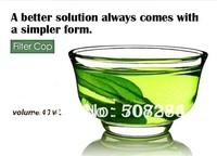 Free shipping !!! 10pcs/lot High quality glass tea cup 40ml