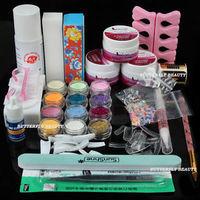 2014 Hot Nail Art Acrylic Liquid Powder Brush Pen Glitter Powder Decoration Cuticle UO