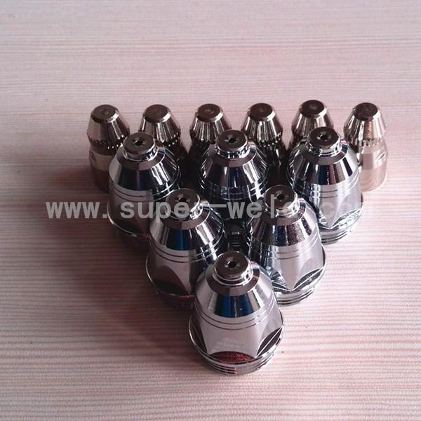 P80 Electrode TET02033 20pcs+Nozzle 20pcs Plasma Consumable for 100A Plasma Cutting Consumables(China (Mainland))