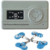 4 GE Internal sensor  with new 1.3inch LCD display TPMS( Tire Pressure Monitoring System)