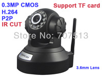 Vstarcam H6837WIP P2P PnP H.264 IP Camera  0.3MP CMOS indoor IP Camera