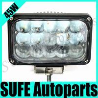 Free DHL Shipping 2pcs 45W CREE LED Working Light 3300lm LED Flood Light Driving Headlight Offroad Truck SUV 4X4 Fog Light