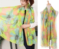 Free shipping, 180*110 cms, cotton blends scarf, fashion shawl,cheap scarves, mixed style order is OK! New arrival!