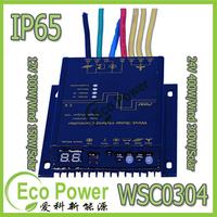 New Water Proof IP67 Wind Solar Hybrid Controller for Lighting System 12V(max 300W wind+150W solar)/24V(400W wind +300W Solar)
