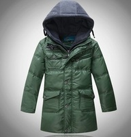 free shipping 2014 winter outfits Mitch child boys casual down jacket coats children teenage kids down parkas warm outerwear