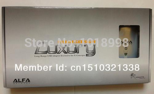 Freeshipping New 3pcs/lot Luxury Alfa High Power Adapter Ralink3070 Chipset two Antannas Wireless Adapter Wholesale(China (Mainland))