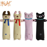Novel plush stuffed toys Plush toy child pencil case brief doll cartoon canvas stationery box pencil bags
