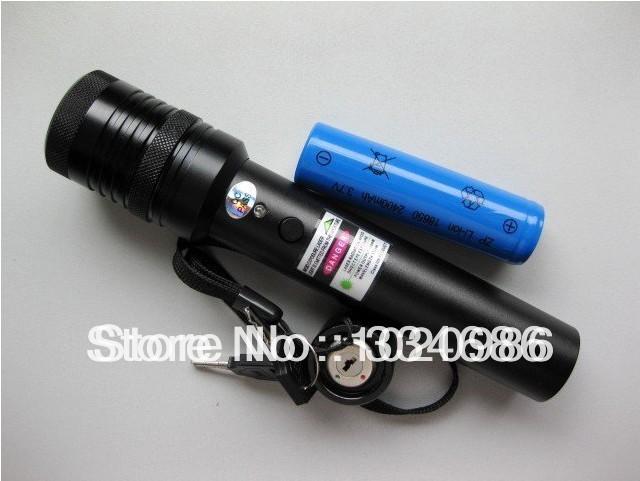 High power Green laser pointer 200mw 300mw 500mw adjustable burn match free shipping(China (Mainland))
