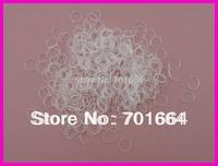 "4.0cm 1.6"" length white mini rubber Hairband for Rope Ponytail,white Holder Elastic Hair Band,Ties Braids Plaits"