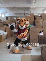 Professional Tigress Tiger Kung Fu Panda Friend Mascot Costume Adult Size
