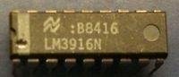 10pcs NS LM3916N Dot / Bar Display Driver DIP18 LM3916