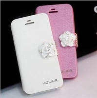 New Silk holster IPH/5/S phone shell fruits 5 / C diamond mobile phone case