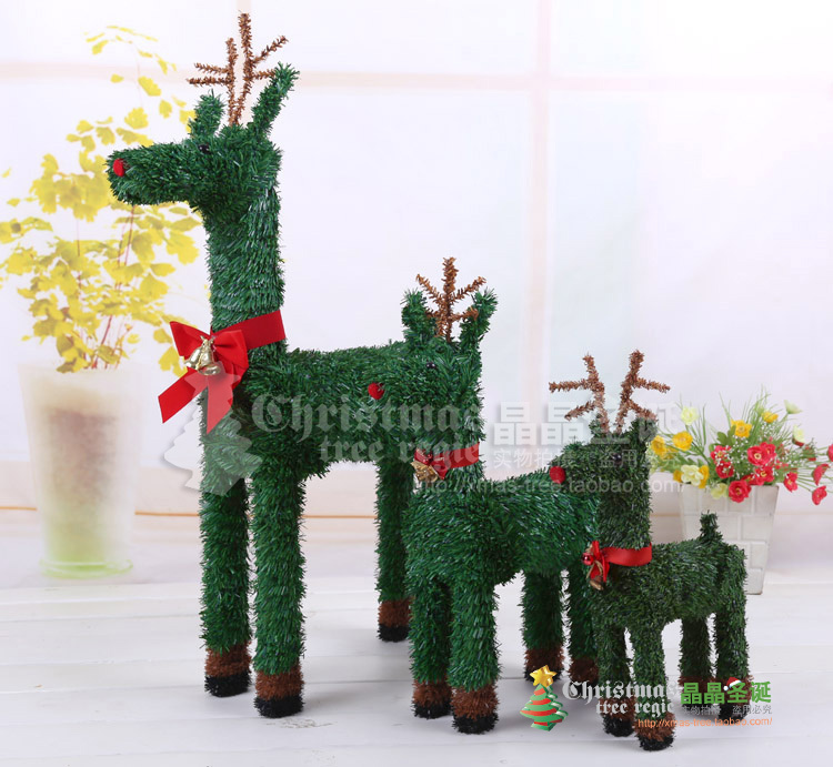 New year decorations christmas supplies elk christmas tree decoration