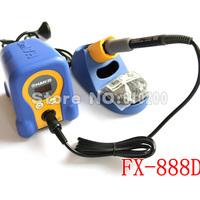 freeshipping Wholesale High quality HAKKO FX-888 FX-888D Digital Soldering Station/Solder Soldering Iron 70W Replace hakko936 EU