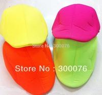 fluorescence color Newsboy Beret hat Cabbie beret Gatsby Flat Cap