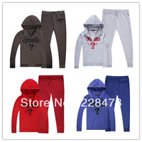 2012 New brand Unisex Suits SportsWear women long-sleeve tracksuit sport suit lesure jacket+pants set uniforms  Cotton warm