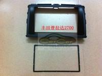 Factory Supply Special Car DVD Frame /Fascias/Panel For Toyota 2009 Prado 2700 WithBlack Color Free Shipping