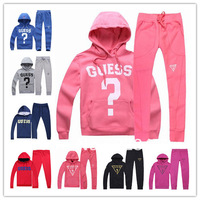 brand suit women's tracksuits women sport suits wear casual set with a Hoodies fleece thickening sweatshirt set lululemon store