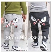 Free shipping, 2013 new children clothing wholesale kids pants boys and girls casual pants harem pants fashion sweatpants