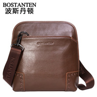 Guaranteed 100% Genuine leather New arrival 2013 fashion cowhide shoulder bag male lather-bag genuine leather man bag b10691