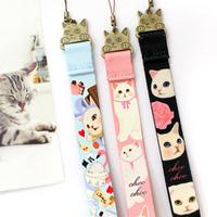 Jetoy mobile phone chain camera lanyard cat choo vanilla strap