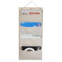 new brand high quality Multi-layer 4 pocket cloth fluid wardrobe wall hanging storage bag customize Organization bags