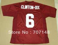 Cheap-Mix Order 2013 New Style Alabama Crimson Tide Ha Ha Clinton-Dix #6 College Football Jerseys Red