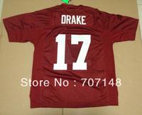 Cheap-Mix Order 2013 New Style Alabama Crimson Tide Kenyan Drake #17 College Football Jerseys Red