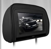 "2x9"" Black Color Car Headrest DVD Player with Buit-in HDMI Port Digital Screen/ IR/ FM Transmitter"