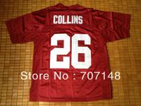 Cheap-Mix Order 2013 New Style Alabama Crimson Tide Landon Collins #26 College Football Jerseys Red