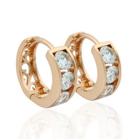Rose gold earrings Classic Ear Clip factory price for retail