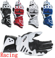 A Star Motorcycle top super-popular leather racing gloves/knight gloves/leather full finger gloves/sports gloves/free shipping