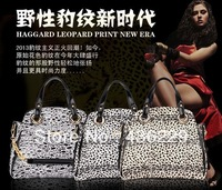 new arrival product 2013 women fashion pu handbags FAMOUS brand louis. handbag OL Leopard handbags luxury  HANDBAG 2013